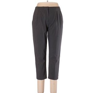 Prada gray ankle cropped skinny leg pants